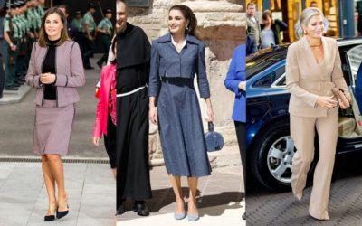 働く女性のリアルに役立つ!王妃の着こなしに学ぶ「セットアップ」の春コーデ