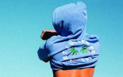 「lucien pellat-finet(ルシアン ペラフィネ)」、スマイルパームツリーシリーズを発売 スウェットシャツやフーディなど