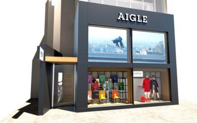 エーグル、東京・原宿に直営の路面店「AIGLE原宿店」をオープン
