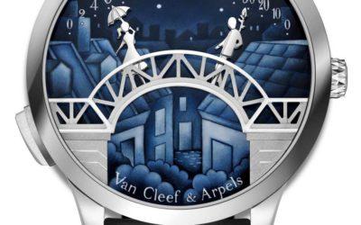 ヴァン クリーフ&アーペル、優しい愛の時間を奏でる「ミッドナイト ポン デ ザムルーウォッチ」を発売