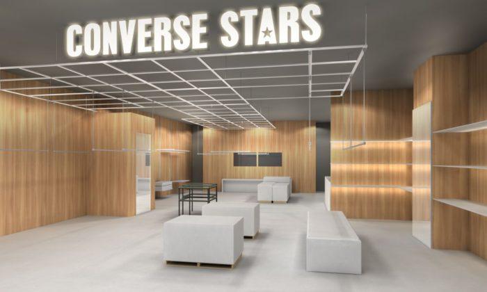 「CONVERSE STARS SHIBUYA」、MIYASHITA PARK(ミヤシタパーク)にオープン