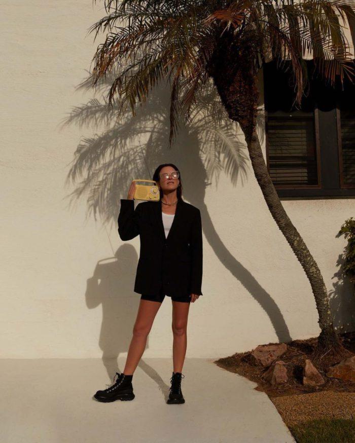 2-Amanda Shadforth - Wearing the Alexander McQueen Tread Slick and The Cut sunglasses