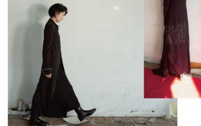 「ヨウジヤマモト プリュス ノアール」2020-21年秋冬コレクション 女優・佐久間由衣さんをビジュアルモデルに起用