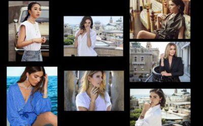 夏のシンプル服に華やぎ添える 「APM Monaco(エーピーエム モナコ)」のアクセサリー重ね付け術