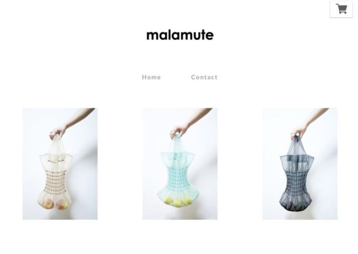 「malamute(マラミュート)」、初の公式オンラインストアをオープン