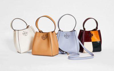 「Tory Burch(トリー バーチ)」、コンパクトな新作バッグ「マックグロー スモール バケットバッグ」を発売