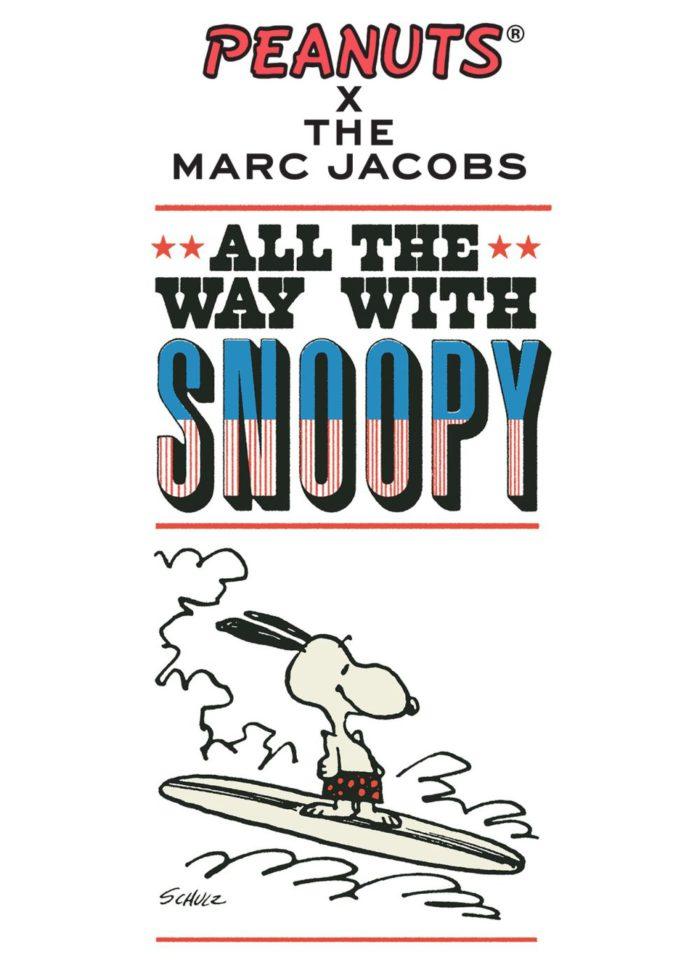 「PEANUTS × THE MARC JACOBS(ピーナッツ×ザ マーク ジェイコブス)」コレクションに新作 アメリカンアートを感じるデザイン