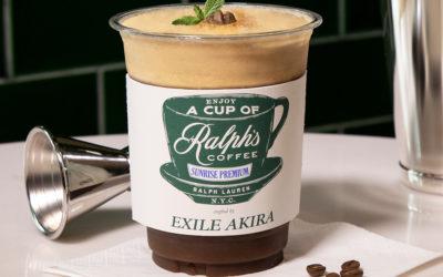 「ラルフズ コーヒー×EXILE AKIRA」スペシャルドリンクが登場 ラルフ ローレン、名古屋市に新フラッグシップをオープン