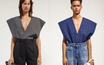 「MM6 Maison Margiela(エムエム6 メゾン マルジェラ)」、2021年春夏コレクションを発表 破壊的なセットアップで新しい日常スタイルを