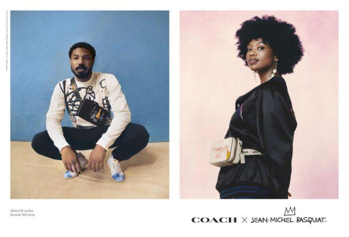 """バスキアのアートファミリーに """"COACH x JEAN-MICHEL BASQUIAT""""コレクションが発売"""