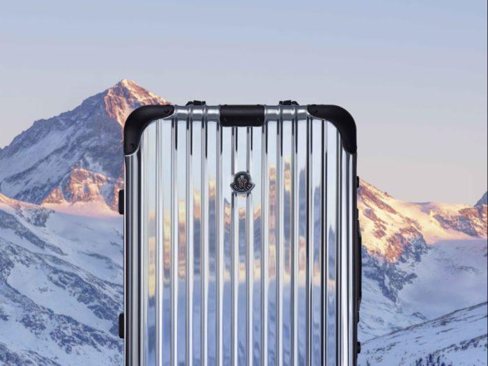 限定版のスーツケースを発売 「MONCLER(モンクレール)」が「RIMOWA(リモワ)」とコラボ