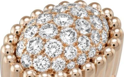 圧倒的なボリューム感の新リングが誕生 ヴァン クリーフ&アーペル、「ペルレ ダイヤモンド パヴェ リング」を発売