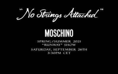 「MOSCHINO(モスキーノ)」2021年春夏ウィメンズコレクション・ランウェイショー ライブストリーミング