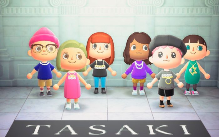 TASAKI、「あつ森」のオリジナルマイデザインをリリース