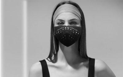 優美なカットワーク、小顔効果も期待 「ALAÏA(アライア)」がマスクカバーを発売 売上の50%を寄付