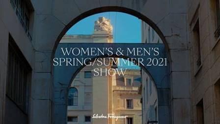 「Salvatore Ferragamo(サルヴァトーレ フェラガモ)」2021年春夏コレクション・ランウェイショー ライブストリーミング