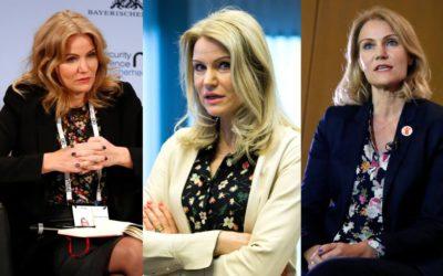 元首相の女性リーダー、ヘレ・トーニング=シュミットさんに学ぶ、「花柄ブラウス」の着こなし術