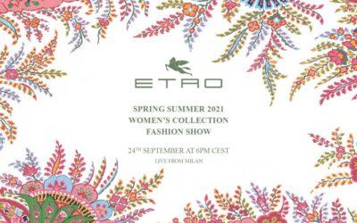 「ETRO(エトロ)」2021年春夏ウィメンズコレクション・ランウェイショー ライブストリーミング