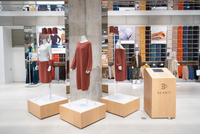 「UNIQLO TOKYO」、「ニット」をテーマにした特別展示を開催 ものづくりのこだわりを紹介