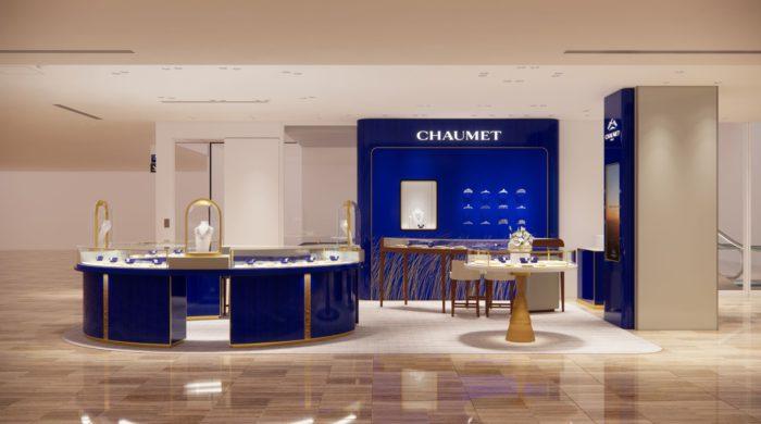 「CHAUMET(ショーメ)」、ショーメ銀座三越店をリニューアルオープン