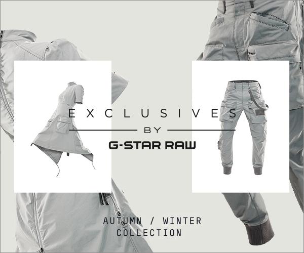 「G-Star RAW(ジースター ロゥ)」、DNAをつなぎ合わせた「エクスクルーシブ・コレクション」を発売