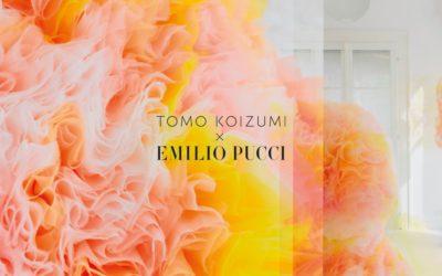 TOMO KOIZUMI氏をカプセルコレクションに起用 「EMILIO PUCCI(エミリオ・プッチ)」2021年春夏コレクションと21年春夏カプセルコレクションを発表