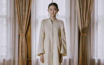 「Mame Kurogouchi(マメ クロゴウチ)」、2021年春夏コレクションを発表 懐かしげで繊細なムード