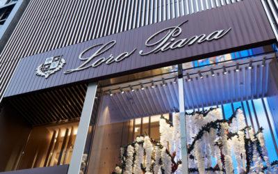 「Loro Piana(ロロ・ピアーナ)」、銀座店のオープンを記念 インスタレーションアート展を開催