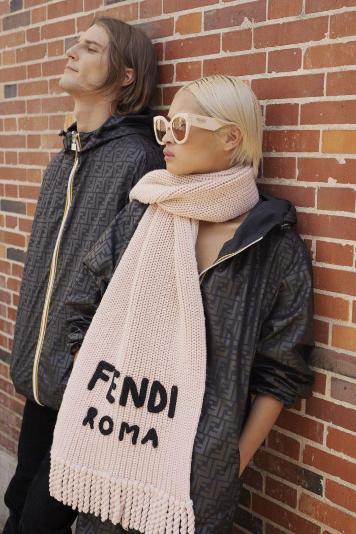 「FENDI x K-WAY(フェンディ × ケーウェイ)」カプセルコレクションを発売