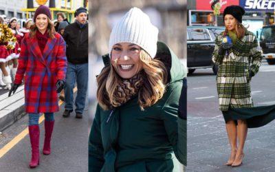 """冬の顔写りがきれいに見える「マフラーコーデ」  アメリカで人気の""""気象キャスター""""ジンジャー・ジーさんの着こなし"""
