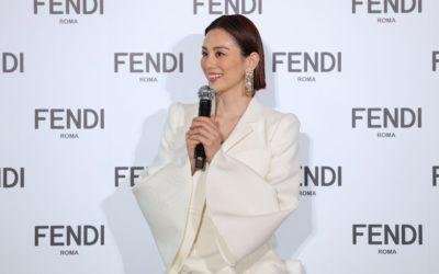 「FENDI (フェンディ)」、ジャパンブランドアンバサダーに女優・米倉涼子さんを起用