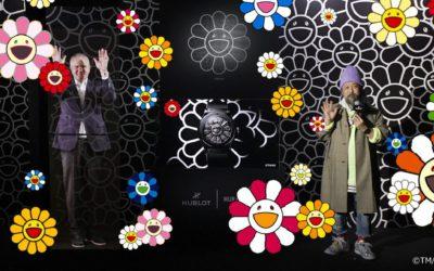 「Hublot(ウブロ)」、村上隆氏とコラボ 笑顔の花モチーフのウォッチを発売