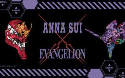 「ANNA SUI(アナスイ)」、『エヴァンゲリオン』とコラボ Tシャツやバッグなどを発売
