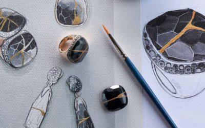 日本の伝統的な「金継ぎ」技術と融合 「Pomellato(ポメラート)」、ジュエリーをアップサイクルしたカプセルコレクションを発表