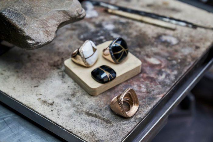 Pomellato Kintsugi Collection_Craftsmanship @Pomellato Atelier