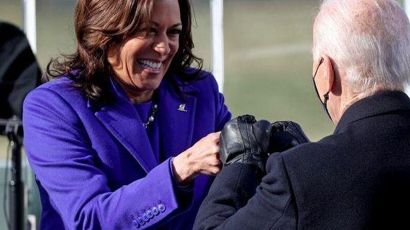 カマラ・ハリス氏が新大統領就任式で着たブランドは? 黒人デザイナーを応援