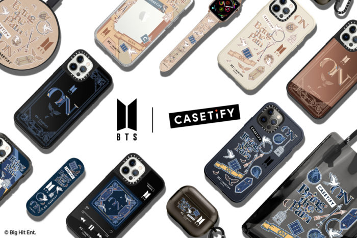 ケースティファイが「BTS | CASETiFYコレクション」を発売
