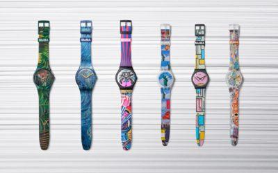 swatch(スウォッチ)、MoMAとコラボした6つのウォッチを発売