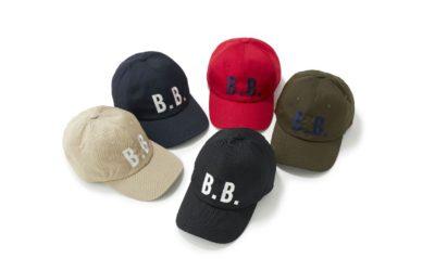 「BROOKS BROTHERS(ブルックス ブラザーズ)」、「B.B.」ベースボールキャップを発売 同じモチーフのスウェットやパーカも