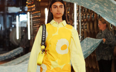 「Marimekko(マリメッコ)」のアート柄をまとってポジティブに 大ぶりな柄を着こなすテク