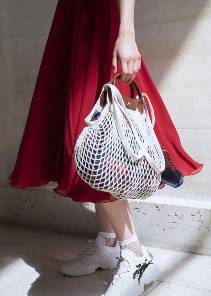 「LONGCHAMP(ロンシャン)」、新作バッグ「Le Pliage® Filet(ル プリアージュ® フィレ)」を発売