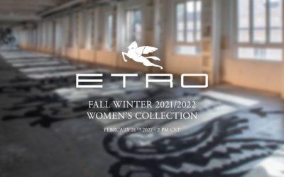 「ETRO(エトロ)」2021-22年秋冬コレクション・ランウェイショー ストリーミング