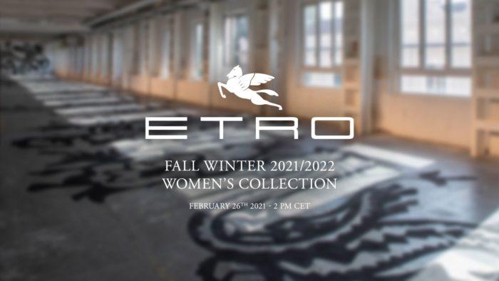 「ETRO(エトロ)」2021-22年秋冬コレクション・ランウェイショー ライブストリーミング