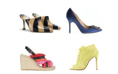2021年春夏シューズトレンドは?4大婦人靴ブランド、コロナ下こそ華やぎと軽さを