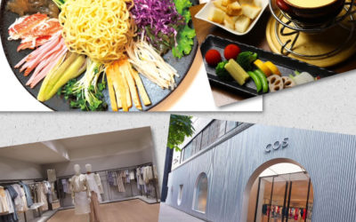 【「野菜×おしゃれ」で健やかビューティー vol.8】「野菜ダイニング ほんのちょっと パレス店」と「COS(コス) 銀座店」