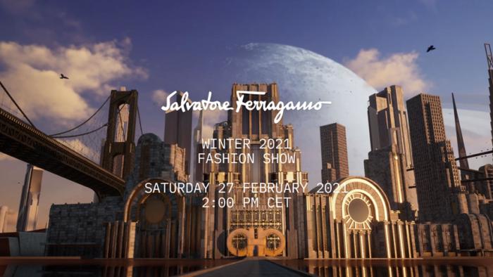 「Salvatore Ferragamo(サルヴァトーレ フェラガモ)」2021-22年秋冬コレクション・ランウェイショー ライブストリーミング