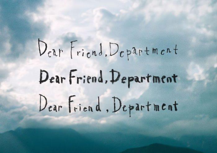 「Dear Friend, Department ー mina perhonen in ISETAN SHINJUKU ー」