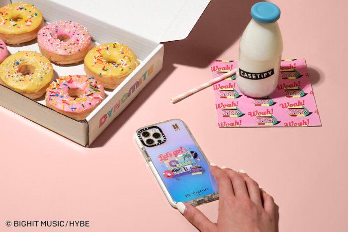 「CASETiFY」、BTSとのコラボ第3弾 「Dynamite」にインスパイアされたiPhoneケースを発売