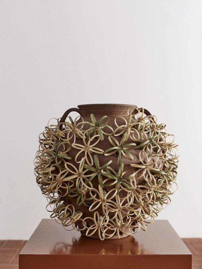 Chestnut roaster by artist Min CHen LOEWE Weaves collection