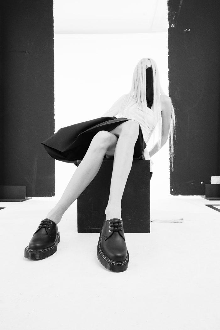 Dr Martens x Rick Owens _ Bex Shoe (Womens)